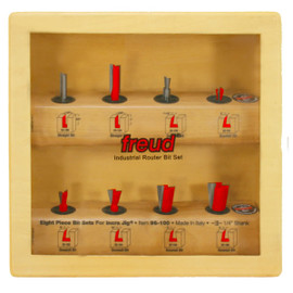 "Freud 96-100 - 1/4"" SHANK INCRA JIG SET"