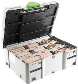 Festool DOMINO Assortment DS/XL D8/D10 306x BU