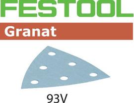 Festool Grit Abrasives STF V93/6 P80 GR/50 Granat