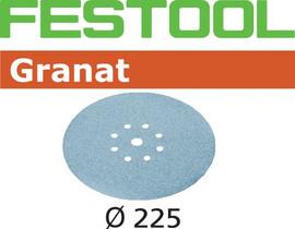 Festool Grit Abrasives STF D225/8 P100 GR/25 Granat