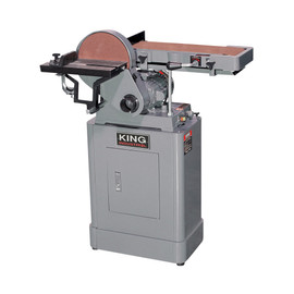 "King Canada KC-760L - 6"" x 48"" Belt & 9"" disc sander"