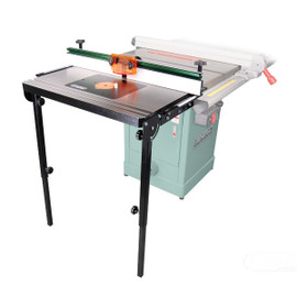 ****DISCONTINUED**** General Cast-iron router table kit for table saws