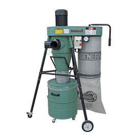 ****DISCONTINUED**** General 1 1/2 HP portable 2 stage dust collector