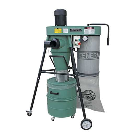 Portable Dust Collectors For Woodworking : General hp portable stage dust collector