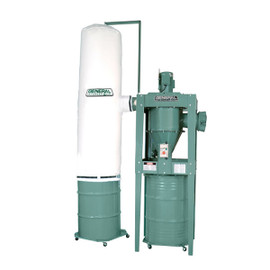 ****Discontinued**** General 3 HP 2 stage dust collector