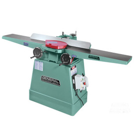 "****Discontinued**** General 8"" deluxe jointer (extra long tables) with helical cutter"