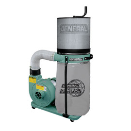 ****Discontinued**** General 1 HP dust collector, Canister Filter