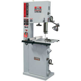 "KING KC-1700WM-VS - 17"" Wood/metal bandsaw with rip fence"