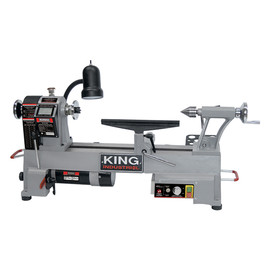 "King Canada KWL-1218VS - 12"" x 18"" Variable speed wood lathe with forward/reverse function"