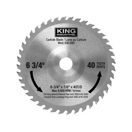 KING KW-098 - Replacement carbide blade for KC-8363