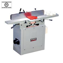 "King Canada KC-75FX - 6"" INDUSTRIAL JOINTER WITH SPIRAL CUTTERHEAD"