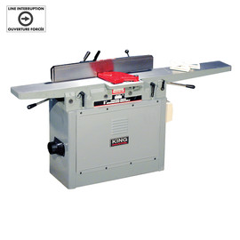 "King Canada KC-85FX - 8"" Parallelogram jointer with spiral cutterhead"