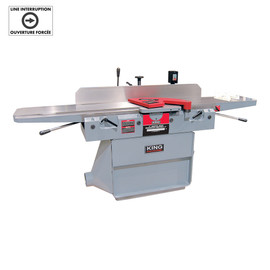 "KING KC-125FX - 12"" Parallelogram jointer with spiral cutterhead - 220V"