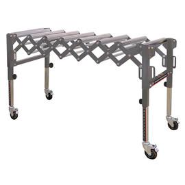 King Canada KRRS-109 - Extendable & flexible conveyor roller table