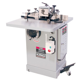 KING KC-351S - Industrial woodworking shaper