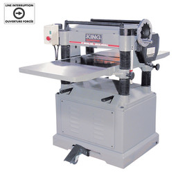 "KING KC-526FX - 20"" Planer with spiral cutterhead"