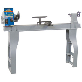 "KING KWL-1443VS - 14"" x 43"" Variable speed wood lathe with digital readout"
