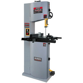 "KING KC-1502FXB - 14""?Wood bandsaw with 12"" resaw capacity"