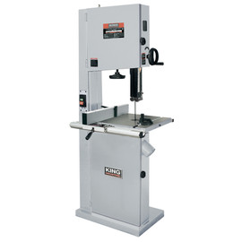 "KING KC-1702FXB - 17"" Wood bandsaw with resaw guide"
