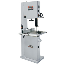 "KING KC-2102FXB - 21"" Wood bandsaw with resaw guide"