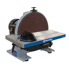 "KING KC-12S - 12"" Disc sander with brake"