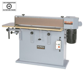 "KING CT-108C - 6"" x 108"" Edge sander"