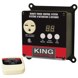 KING RC-220 - 220V Remote power control system for dust collector