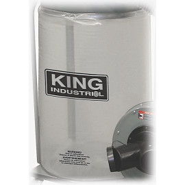 KING KDCB-5 - See through plastic bottom dust bag for KC-3105C