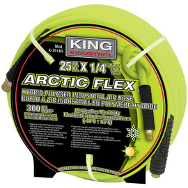 "King Canada K-2514H - 1/4"" x 25 ft. Hybrid industrial air hose"