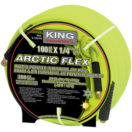 "King Canada K-10014H - 1/4"" x 100 ft. Hybrid industrial air hose"