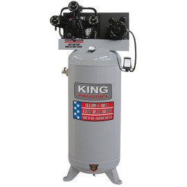 KING KC-5160V1 - High output 6.5 peak HP 60 Gallon air compressor - 18.5 CFM?@ 150PSI