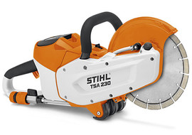 Stihl TSA230 - New battery powered cutt-off saw for indoor/outdoor use