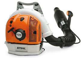 Stihl BR500 - Low-noise professional 4-MIX backpack blower