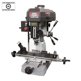 "King Canada PDM-30 - 1 1/4"" milling drilling machine - 2 HP - with limit switch"