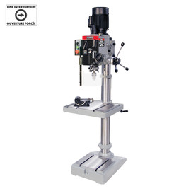 KING KC-40HS - Gearhead drilling machine - MT#3 spindle (220V) - with limit switch