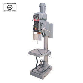 "KING KC-50 - 28"" Variable speed gearhead drilling machine - with limit switch"
