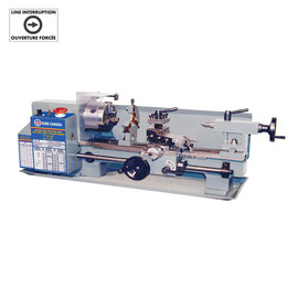 "KING KC-0712ML - 7"" x 12"" Variable speed mini metal lathe"