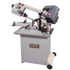 "KING KC-129DS - 5"" x 6"" Dual swivel metal cutting bandsaw"