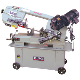 "KING KC-712GH-5 - 7"" x 12"" Metal cutting bandsaw with gear drive"