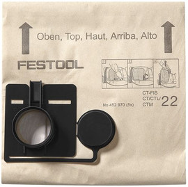 Festool Filter bag FIS-CT 33/5