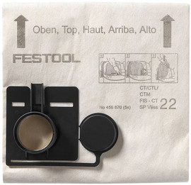 Festool Filter bag FIS-CT 22 SP VLIES/5
