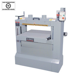 "KING KC-26DS - 26"" x 12"" Dual drum sander"