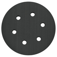 "Porter Cable 18001 - 6"", 6 Hole Hook and Loop Replacement Pad (for 7366 and 97366)"