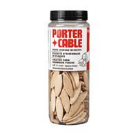 "Porter Cable -  Plate Joining Biscuits Size ""0""  (150 Per Tube) - 5560"