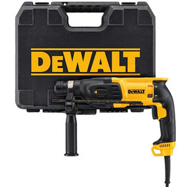 "DeWALT D25133K - 1"" SDS Pistol Grip - Three Mode, 8 AMPS"