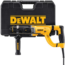 "DeWALT D25263K - 1-1/8"" D-Handle - Three Mode, 8.5 AMPS with SHOCKS"