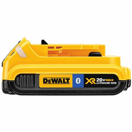 DeWALT DCB203BT - 20V MAX Li-Ion Compact Battery Pack with Bluetooth Technology (2.0 Ah)