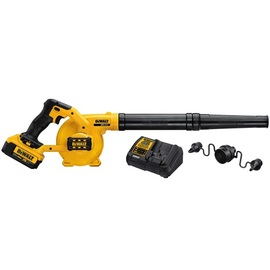 DeWalt -  20V MAX Li-Ion Compact Jobsite Blower (4.0Ah) w/ 1 Battery - DCE100M1