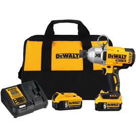 "DeWALT DCF898P2 - 20V MAX XR 3 Speed 7/16"" High Torque Impact Wrench (5.0Ah) w/ 2 Batteries and Bag"