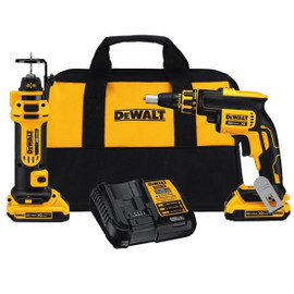 DeWALT DCK263D2 - 20V MAX 2 Tool (DCF620 & DCF886) w/ 2 Batteries (2.0Ah) and Bag